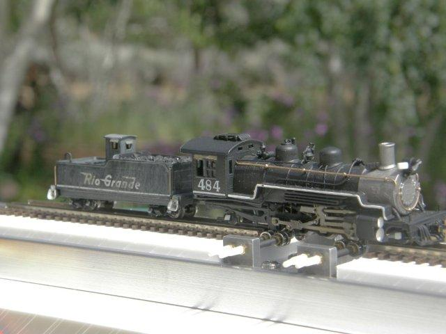 Aspen Models K-36 Engineer's side frontal view of New N/Nn3 Dual Gauge Style 1.2 Testtraxx...